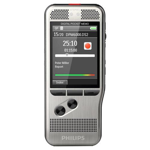 Philips DPM6000 Digital PocketMemo Recorder Kit