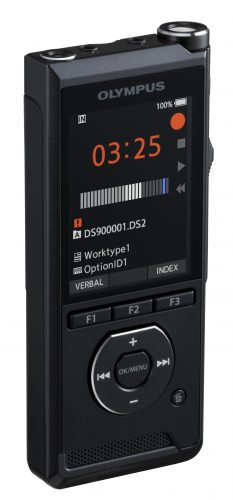 DS-9000 professional voice recorder with odms