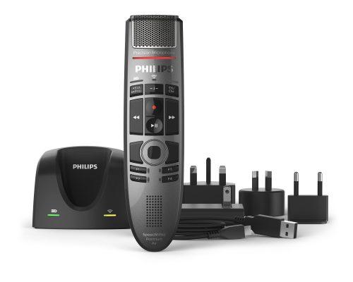 Philips SMP4000 SpeechMike Premium Air Push-Button Dictation Microphone