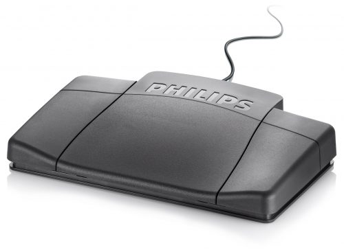 Philips ACC2320 USB Foot Switch (3 pedals US style)