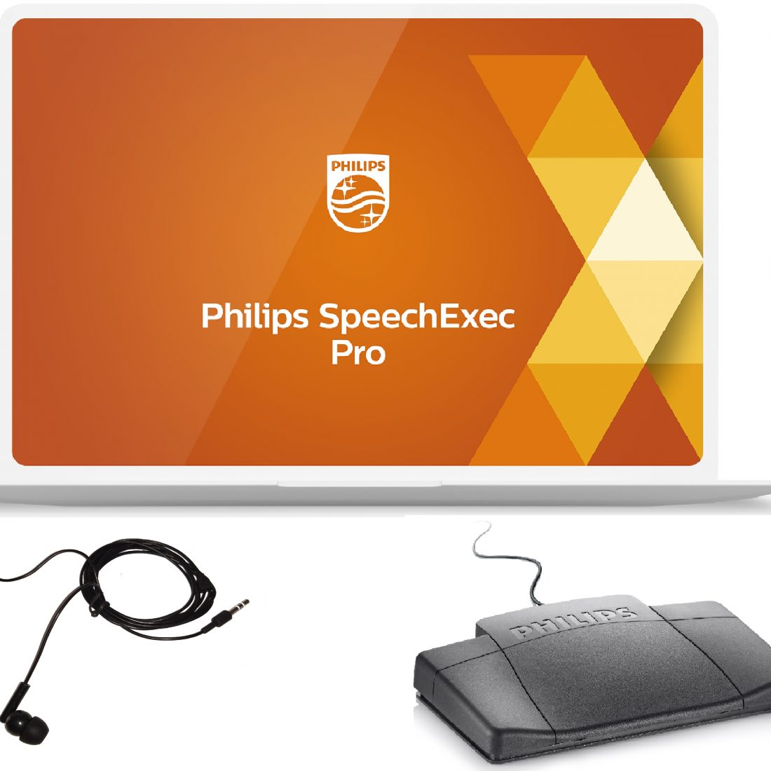 Philips SpeechExec Pro LFH7277 Transcription Kit
