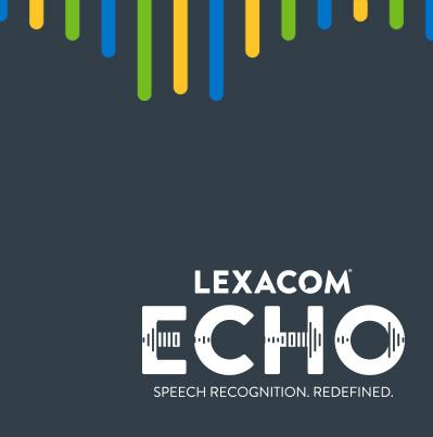 Lexacom Echo Speech Recognition Service