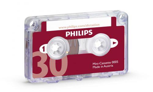Philips LFH0005 Pocket Memo Half Hour Mini Cassette