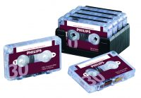 Philips LFH0005 Pocket Memo Half-Hour Mini Cassette (set of 10)