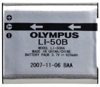 Olympus LI-50B Lithium-Ion Battery