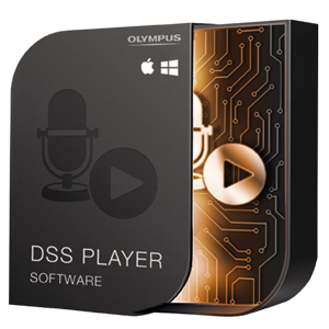 Olympus DSS Player for MAC Transcription Software Licence