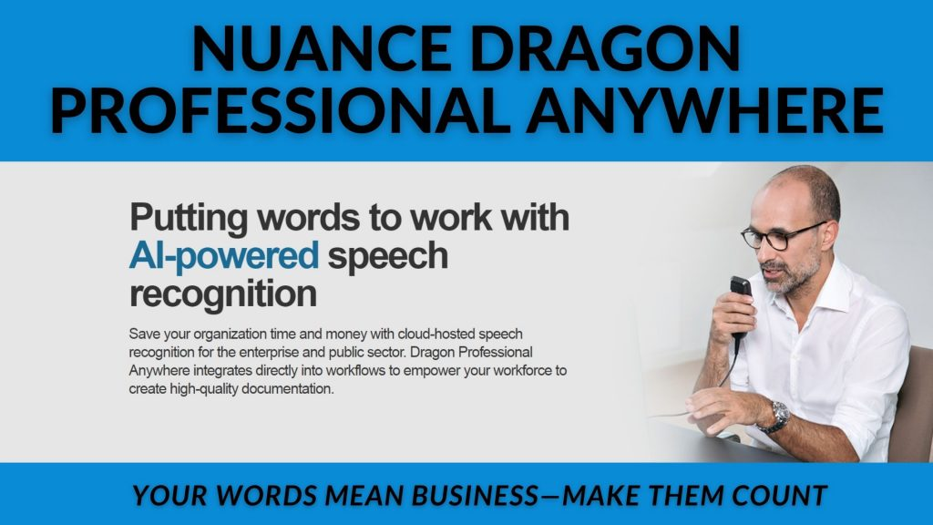 Dragon Professional Anywhere is Here - Announcement