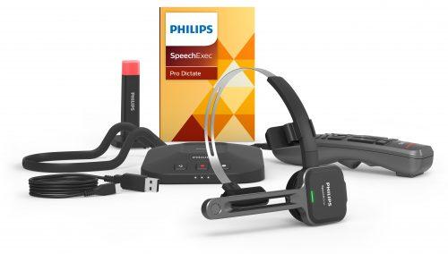 PSM6800 SpeechOne Dock+Status Light + Remote Control + AirBridge Dongle + SpeechExec Pro Dictate V11