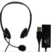 Nuance Dragon Corded Basic Entry Level Headset